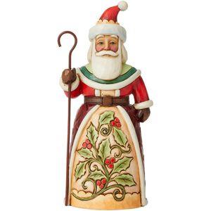 Heartwood Creek Santa with Holly Figurine