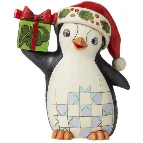 Heartwood Creek Christmas Penguin Figurine 6009007