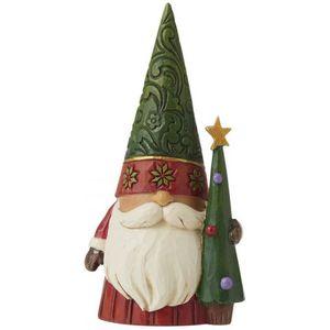 Heartwood Creek Christmas Gnome with Tree Figurine