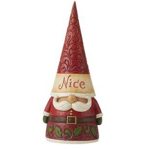 Heartwood Creek Christmas Gnome Naughty/Nice Two Sided Figurine