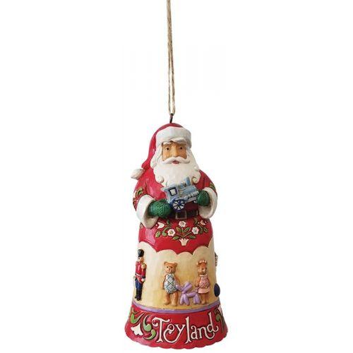 Heartwood Creek Hanging Ornament - Toyland Santa 6009457