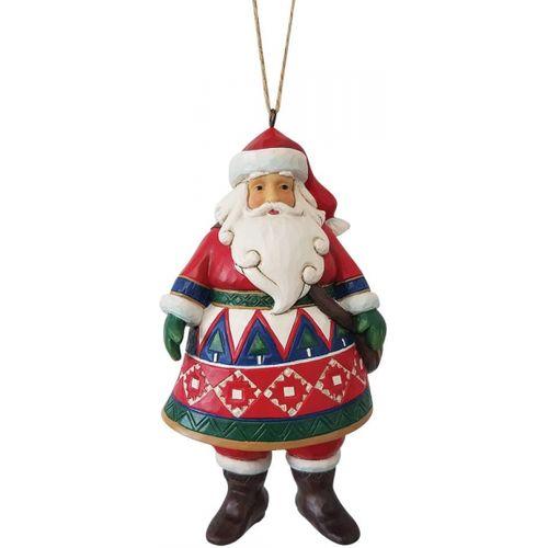 Heartwood Creek Hanging Ornament - Lapland Santa 6009458