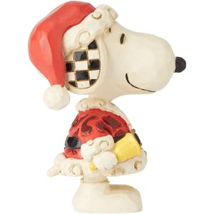 Peanuts by Jim Shore Mini Figurine - Snoopy Santa