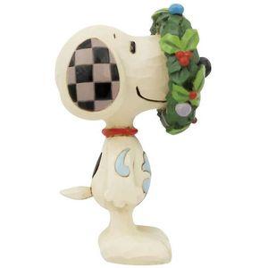 Peanuts by Jim Shore Mini Figurine - Snoopy in Wreath