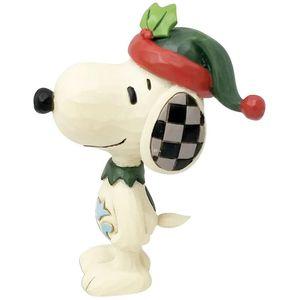 Peanuts by Jim Shore Mini Figurine - Snoopy Elf