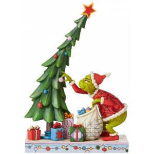 The Grinch by Jim Shore Figurine - Grinch Undecorating the Tree