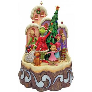 The Grinch by Jim Shore Carved by Heart Illuminated Figurine