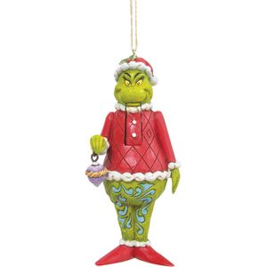 The Grinch by Jim Shore Hanging Ornament - Grinch Nutcracker