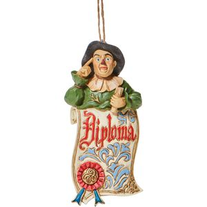 The Wizard of Oz by Jim Shore Hanging Ornament - Scarecrow Diploma