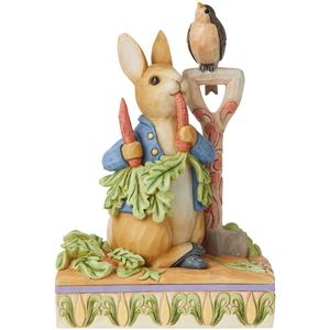 Beatrix Potter by Jim Shore Then He Ate Some Radishes Peter Rabbit Figurine