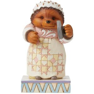 Beatrix Potter by Jim Shore Lily-White and Clean, Oh Mrs Tiggy-Winkle Figurine