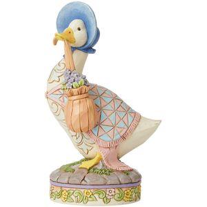 Beatrix Potter by Jim Shore Wearing a Shawl & A Poke Bonnet Jemima Puddle-Duck