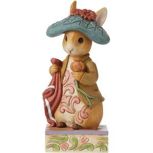 Beatrix Potter by Jim Shore Nibble, Nibble, Crunch Benjamin Bunny Figurine