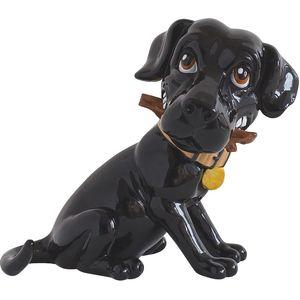 Little Paws Cooper the Black Labrador Figurine