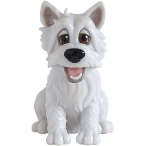 Little Paws Wally the Westie Figurine