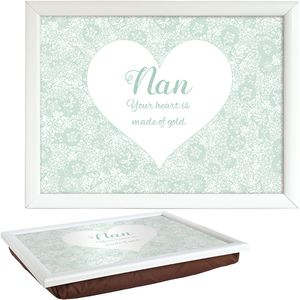 Said with Sentiment Lap Tray - Nan