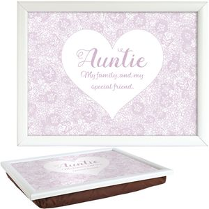 Said with Sentiment Lap Tray - Auntie