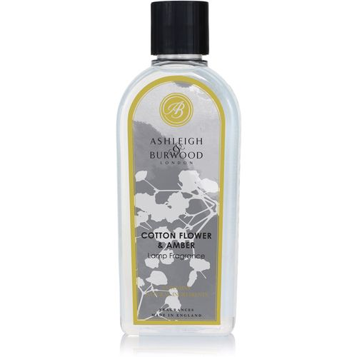 Ashleigh & Burwood Life In Bloom Lamp Fragrance 500ml - Cotton Flower Amber BLPFL504