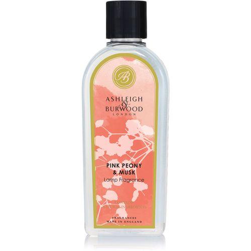 Ashleigh & Burwood Life In Bloom Lamp Fragrance 500ml - Pink Peony & Musk