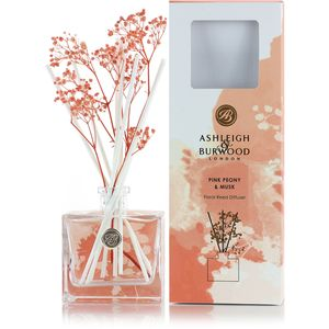 Ashleigh & Burwood Life in Bloom Floral Reed Diffuser - Pink Peony & Musk