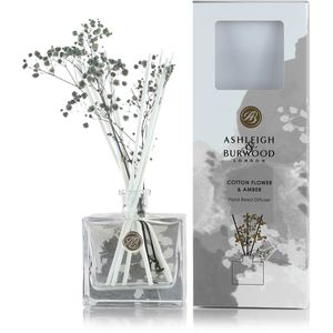 Ashleigh & Burwood Life in Bloom Floral Reed Diffuser - Cotton Flower & Amber