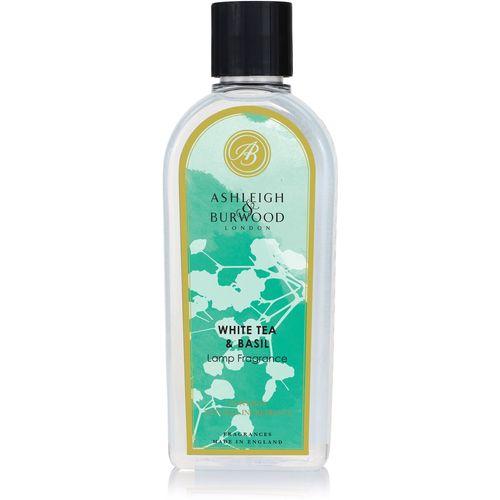 Ashleigh & Burwood Life In Bloom Lamp Fragrance 500ml - White Tea & Basil BLPFL02