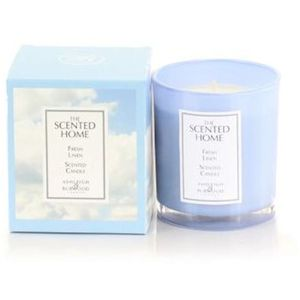 Ashleigh & Burwood The Scented Home Glass Candle - Fresh Linen