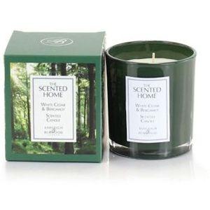 Ashleigh & Burwood The Scented Home Glass Candle - White Cedar & Bergamot