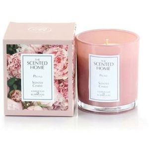 Ashleigh & Burwood Scented Home Glass Candle - Peony
