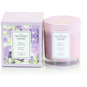 Ashleigh & Burwood Scented Home Glass Candle - Freesia & Orchid