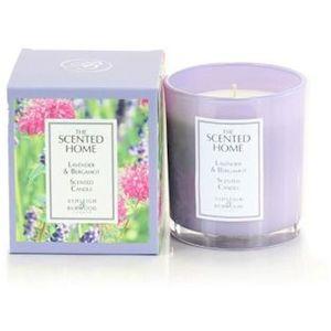 Ashleigh & Burwood Scented Home Glass Candle - Lavender & Bergamot