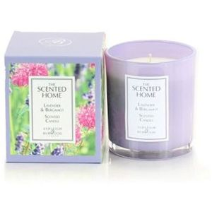 Ashleigh & Burwood The Scented Home Glass Candle - Lavender & Bergamot