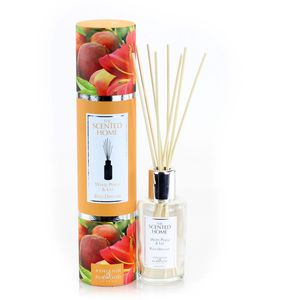 Ashleigh & Burwood Scented Home Reed Diffuser 150ml - White Peach & Lily