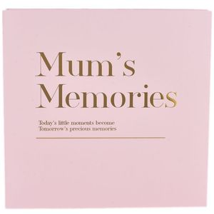 Celebrations Moments Coffee Table Photo Album - Mums Memories
