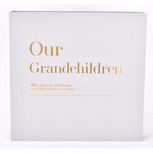 Celebrations Moments Coffee Table Photo Album - Our Grandchildren