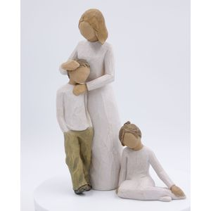 Willow Tree Figurines Set Mother & Son with Daughter (34793)