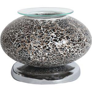 Aroma Touch Electric Wax Melt Burner - Ellipse Black Mosaic