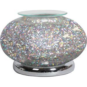 Aroma Electric Wax Melt Burner Touch - Ellipse Glitter Star