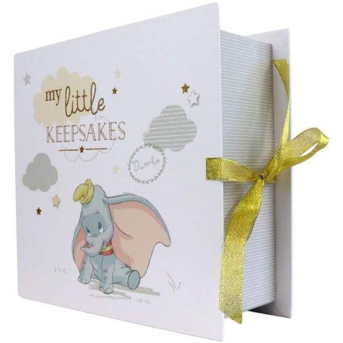 Disney Magical Beginnings Paperwrap Keepsake Box with 6 Drawers - Dumbo