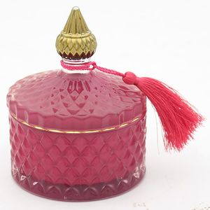 Desire Boutique Soy Candle Jar - Velvet Rose & Oud