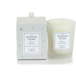 Ashleigh & Burwood Scented Home Votive Candle - White Christmas