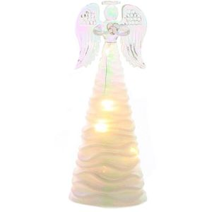 Christmas Decoration - Light Up Angel 18cm