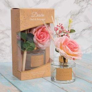 Desire Rose Reed Diffuser - Oud & Bergamot