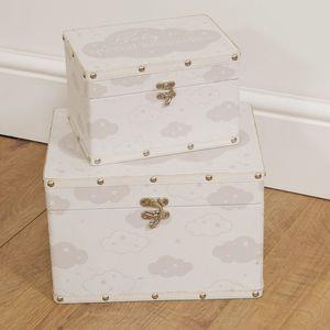 Juliana Bambino Set of 2 Luggage Boxes - Babys Special Keepsakes