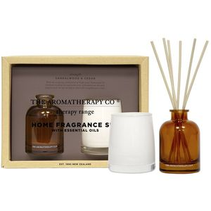 The Aromatherapy Co Therapy Candle & Reed Diffuser Gift Set - Strength