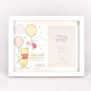 "Disney Magical Beginnings Photo Frame 4x6"" - Me & Grandma (Pooh & Piglet)"