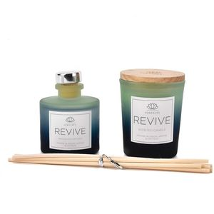 Sophia Serenity Candle & Reed Diffuser Gift Set - Revive