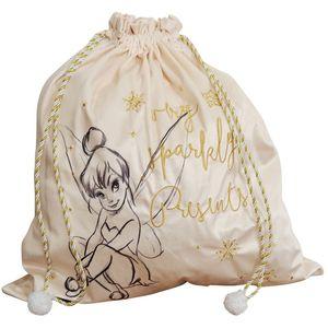 Disney Velvet Christmas Gift Sack - Tinker Bell