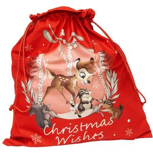 Disney Velour Christmas Gift Sack - Bambi