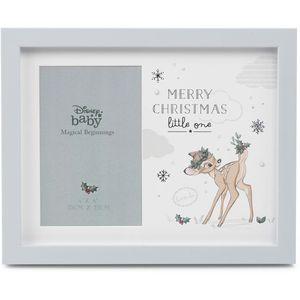 "Disney Magical Beginnings Photo Frame 4x6"" - Merry Christmas (Bambi)"